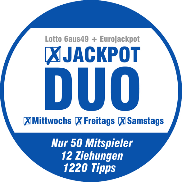 Jackpot Duo Spielgemeinschaft