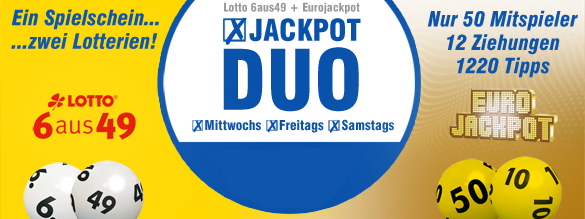 lottobay - Jackpot Duo Spielgemeinschaft online spielen